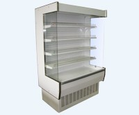 Wall medium temperature refrigerating show-windows