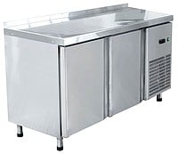 The cooled tables