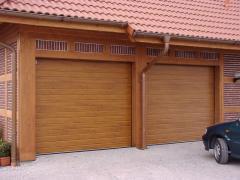 Секционные ворота гаражные автоматические