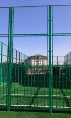 Artificial grass for sports complexes