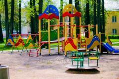 Искусственная трава на детскую площадку