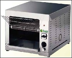 Conveyor toasters of TOC and TOCS