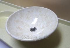 """Marble"""" sink bowl of HS-410 from an"""