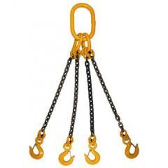 Chetyrekhvetveva sling of chain 4STs G/P 11,2 TH,