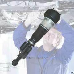 Favorable repair of pneumocylinders, pneumoracks,