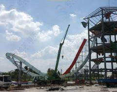 Equipment and materials for water parks