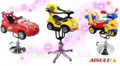 Hairdressing chairs for children