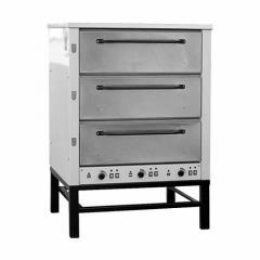 Печь хлебопекарная электрическая ХПЭ-500 нерж.