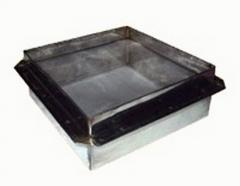 Two-section filters for beekeeping