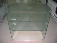 Furniture from glass