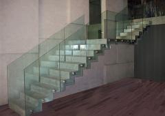 Szkło dla schodów