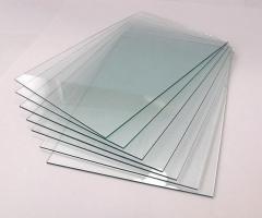 Glass sheet polished