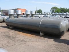 Резервуары подземного размещения отопительные.