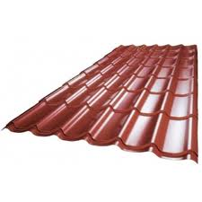 Roof from sheet metal
