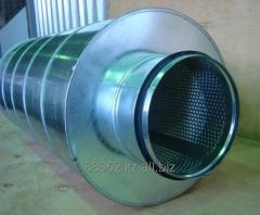 Noise muffler tubular ̆ round ̆ State Customs