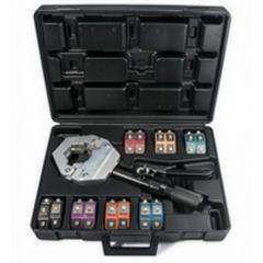 Crimping tools for car air conditioner hoses