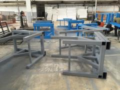 Production of the Metalwork.