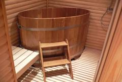 Pools for saunas