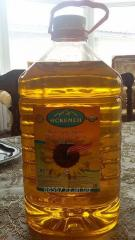 The sunflower oil which is not refined