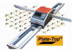 The portable car of thermal cutting of sheet metal