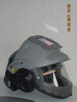 A helmet with a welding guard of Procap Welding