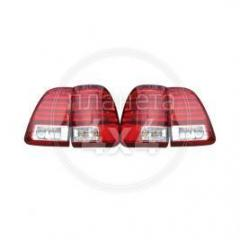 Back lamps on Land Cruiser 100, design of LX 470
