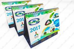 Calendars desktop production