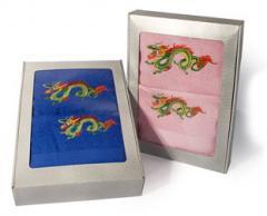 Коробка для полотенца махрового 70*140 Поздравляю!