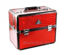 Case DY 2651 K (b) for the makeup artist (a red