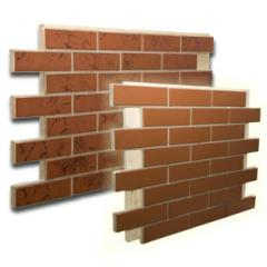Brick front thermopanels