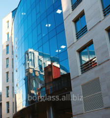 Translucent designs of facades of buildings and