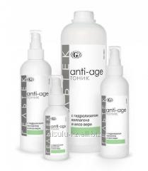 Anti-Age tonic with a hydrolyzate of collagen and