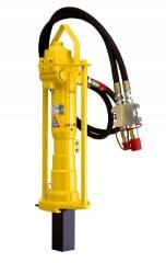 Hydraulic poppet for blockage of columns with the