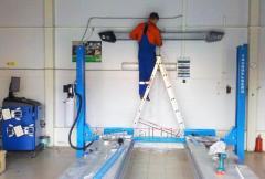 Services in maintenance, installation, dismantle