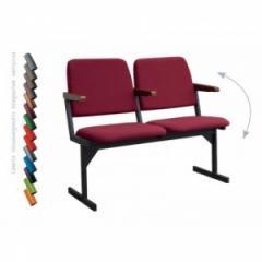 Кресло для актового зала двоместное