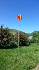 The wind generator (wind installation) from 500 W