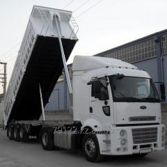 Lorries for crops transporting