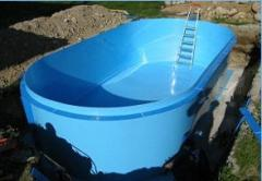 Pools are polypropylene