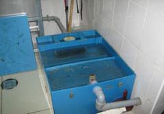 Equipment for sewage treatment, zhiroulovitel