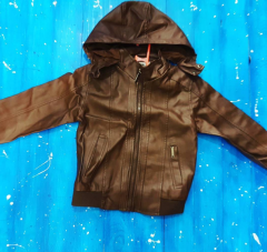 Куртка для мальчика от 3 до 5 лет, цвет коричневый