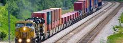 Containers for railroads