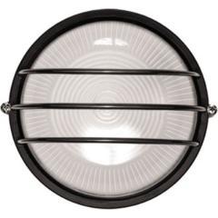 Светильник НПБ 1306 черный/круг сетка 60Вт (ИЭК)