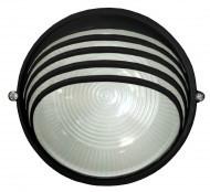 Светильник НПБ 1307 черный/круг ресничка 60Вт (ИЭК)