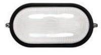Светильник НПБ 1401 черный/овал 60Вт (ИЭК)