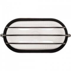 Светильник НПБ 1406 черный/овал сетка 60Вт (ИЭК)