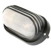 Светильник НПБ 1407 черный/овал 60Вт (ИЭК)