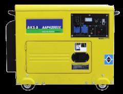 Дизельный генератор Aksa AAP-4200 DE