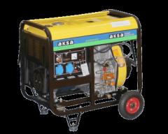 Дизельный генератор Aksa AAP 8000DE