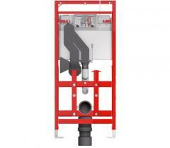 Застенный модуль TECElux 100 (ТЕСЕ) инсталляция