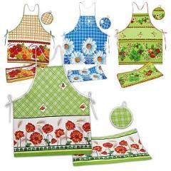 Кухонный набор (фартук, прихватка, полот.35*60)
